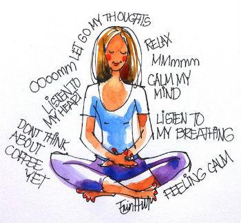 Meditate daily.